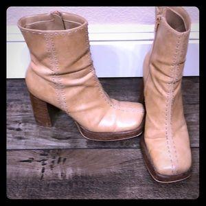 Baker mid-calf boots